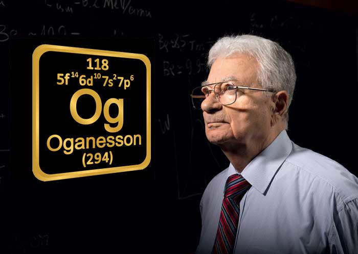 «Оганесон» — 118-й элемент, названный в честь Ю.Ц. Оганесяна