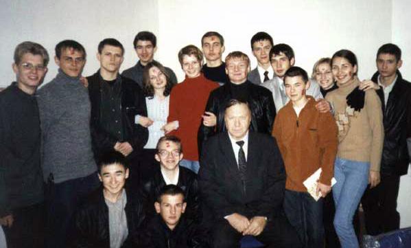 Студенты первого набора, 2002 год