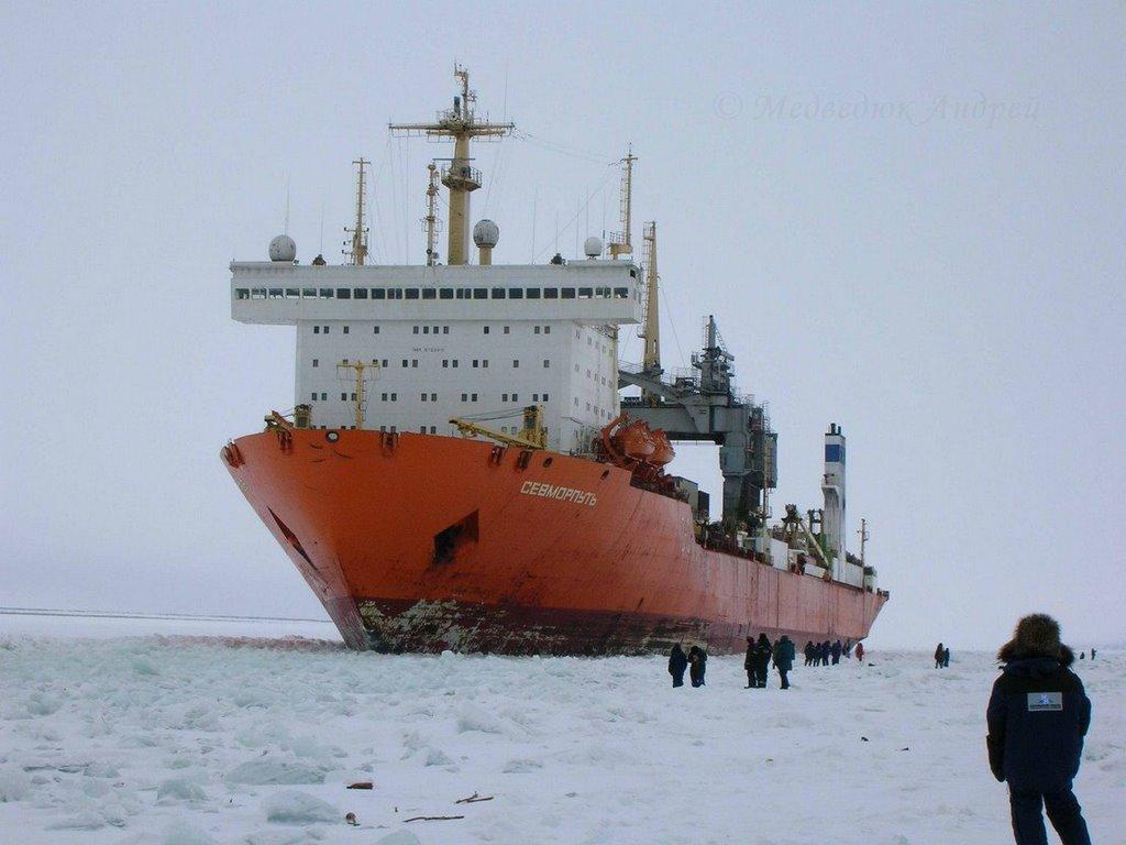 Атомный лихтеровоз-контейнеровоз «Севморпуть»