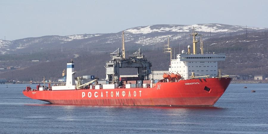 Единственный в мире атомный лихтеровоз-контейнеровоз «Севморпуть»